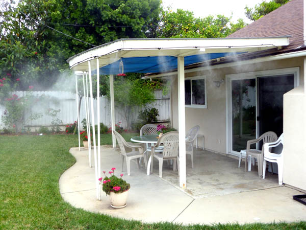patio and does goods system a misting lovely reviews much cost best outdoor how